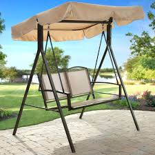 Lowes Swing Canopy Replacement by Patio Ideas Lowes Porch Swing Deck Swing 3 Person Patio Swing
