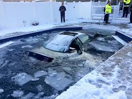 lexus ls in snow two teens crash a lexus es into a pool the road to is