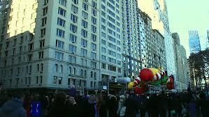 new york ny circa 2011 ronald mcdonald balloon in the macy s