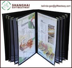 menu covers wholesale price competitive wholesale high quality menu hotel menu cover eco