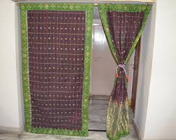 Indian Curtain Fabric Etsy Your Place To Buy And Sell All Things Handmade