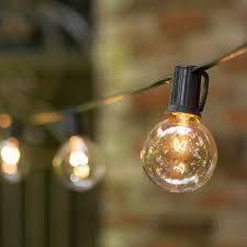 c9 incandescent light strings 2 in bulbs c9 25 ft black wire globe string lights wedding lights