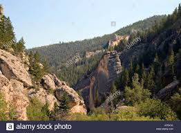 Wyoming forest images Crazy woman canyon bighorn national forest wyoming usa stock photo jpg