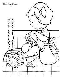 41 money smart storytime images coloring pages