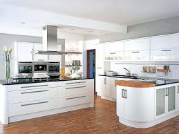 white country kitchen design white high gloss kitchen island over