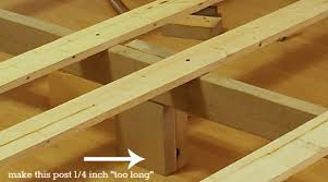 How To Make A Platform Bed Frame With Pallets by How To Build A Custom King Size Bed Frame U2014 The Thinking Closet