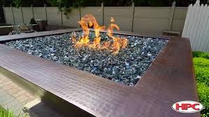 glass for fire pit outdoor fire pit media reflective black glass youtube