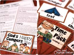 god u0027s happy campers good samaritan lesson mrs jones u0027 creation