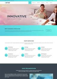 free templates for official website multi page website templates free download webthemez