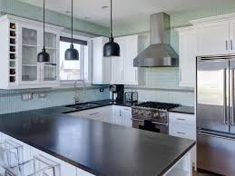 black and white kitchen brilliant backsplash for mosaic tile