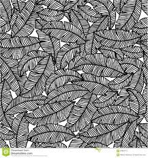 banana leaf pattern stock vector image of paradise forest 58880775