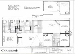 Double Wide Mobile Home Floor Plans Champion Homes Double Wides