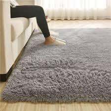 tappeto a pelo lungo 110x160cm grande tappeto moderno antiscivolo shaggy salotto