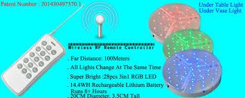 wholesale led under table lights aliexpress com buy 60pcs lot remote controlled multicolors rgb led