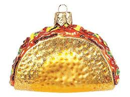 mexican food ornaments