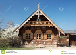 wooden house plans russian wooden house royalty free stock photos image 2383168