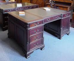 Antiker Schreibtisch Schreibtisch Büromöbel Partnerdesk Antiker Stil Mahagoni 2336 Ebay