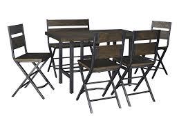 signature design by ashley dakota 6 piece rectangular dining room