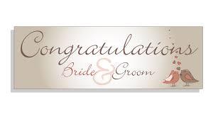 wedding congratulations banner congratualtions groom wedding banner banner co uk