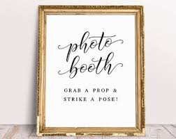 wedding reception quotes photo booth quotes etsy