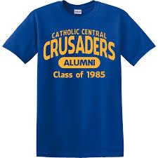alumni tshirt central crusaders alumni design t shirt