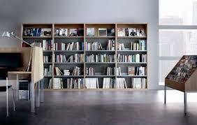 bibliotheque de bureau bibliothèque haute contemporaine pour bureau en bois jakin