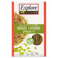 x cuisine cuisine organic edamame spaghetti 1 x 200g