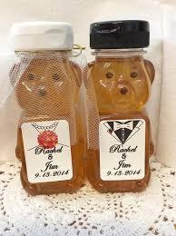 honey wedding favors 8 ounce honey favor wedding baby