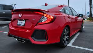 2017 honda civic sedan 2017 honda civic si sedan road test review by ben lewis