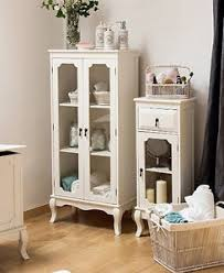 white glass storage cabinet french display cabinet shabby chic furniture white glass door tall