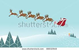 santa sleigh stock images royalty free images u0026 vectors