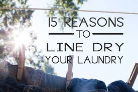 the benefits of line drying laundry marital bliss with a kiss of