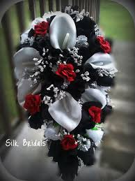 Red Wedding Bouquets Download Black And Red Wedding Bouquets Wedding Corners