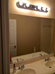 bathroom light chic removing bathroom light bar fixture