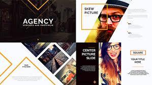 orange presentation template by clean promo videohive