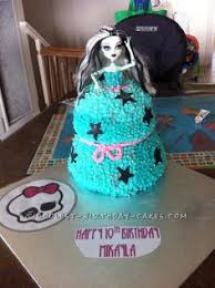high cake ideas not a big fan of doll cakes but khloe gasps every time she sees