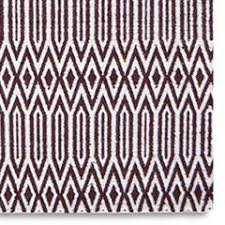 serengeti small brown u0026 white tribal print rug buy at lucas