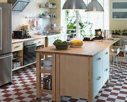 Table Island For Kitchen Awesome Ideas In Using A Table As Kitchen Island My Home Design