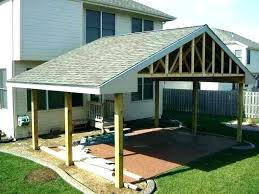 Simple Patio Cover Designs Patio Cover Plans Diy Teamconnect Co