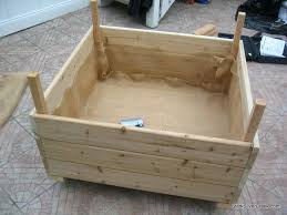 diy planter box diy planter box design follow diy elevated garden box plans