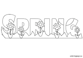 coloring pages to print spring spring coloring page gallery of spring coloring page spring coloring