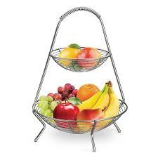 modern fruit holder tiered basket stand ebay