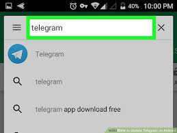telegram for android how to update telegram on android 5 steps with pictures