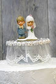 precious moments lace wedding cake topper wedding collectibles