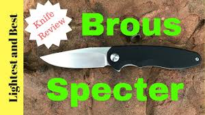 Aesthetic Knives Brous Specter Not Bad For A Steel Handled Knife Youtube