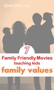 family friendly teaching family values