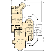 Multiplex Floor Plans House Plan 90342 At Familyhomeplans Com
