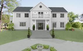 den vita dröm gården ett nytt new england hus i djursholm