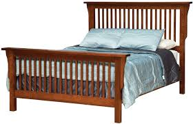 Cal King Beds California King Mission Style Frame Bed With Headboard U0026 Footboard