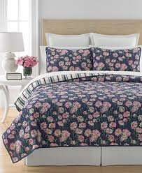 Macy S Bed And Bath Closeout Martha Stewart Collection Carnation Field Quilts And